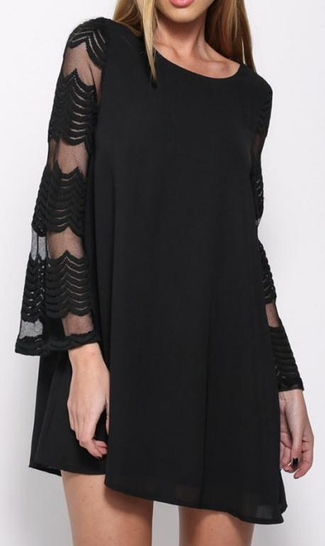ROBE EVASEE MANCHES TULLE BRODE BOHO BOHEME CHIC D0898