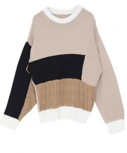 PULL AMPLE CELEBRITES 2 COLORIS  BOHO BOHEME CHIC M0178