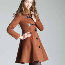 ENSEMBLE ROBE + VESTE MARRON BOHO CHIC BOHEME D0359
