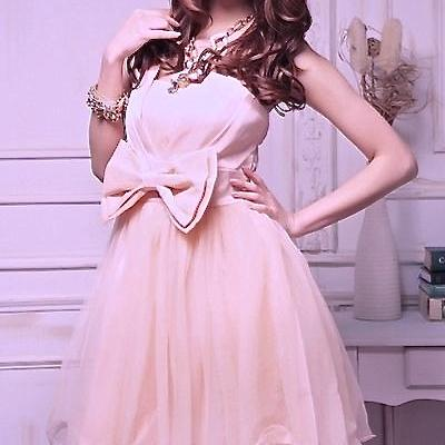 Robe satin dentelle bustier boho boheme chic dress0512