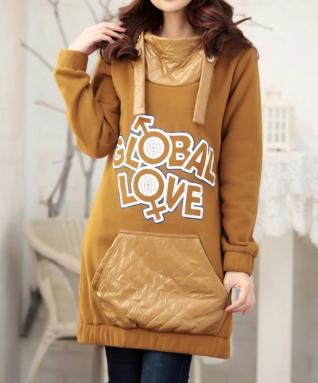 Robe sweat capuche marque boho boheme chic dress0312