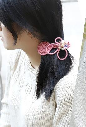 Barrette cheveux papillon boho boheme chic hair0223