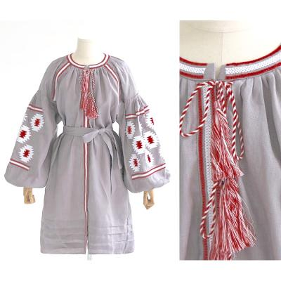 Robe courte coton brodée boho boheme chic dress0938