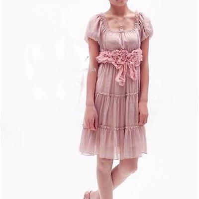Robe mousseline romantique boho boheme chic dress0055