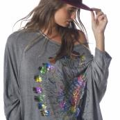 Tot pull over loose indien boho boheme chic PULL0354