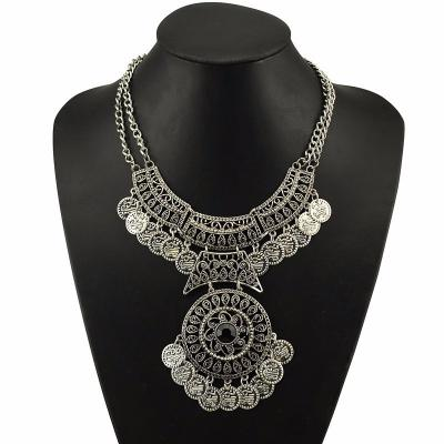 Collier pampilles hippie boho boheme chic neck0459