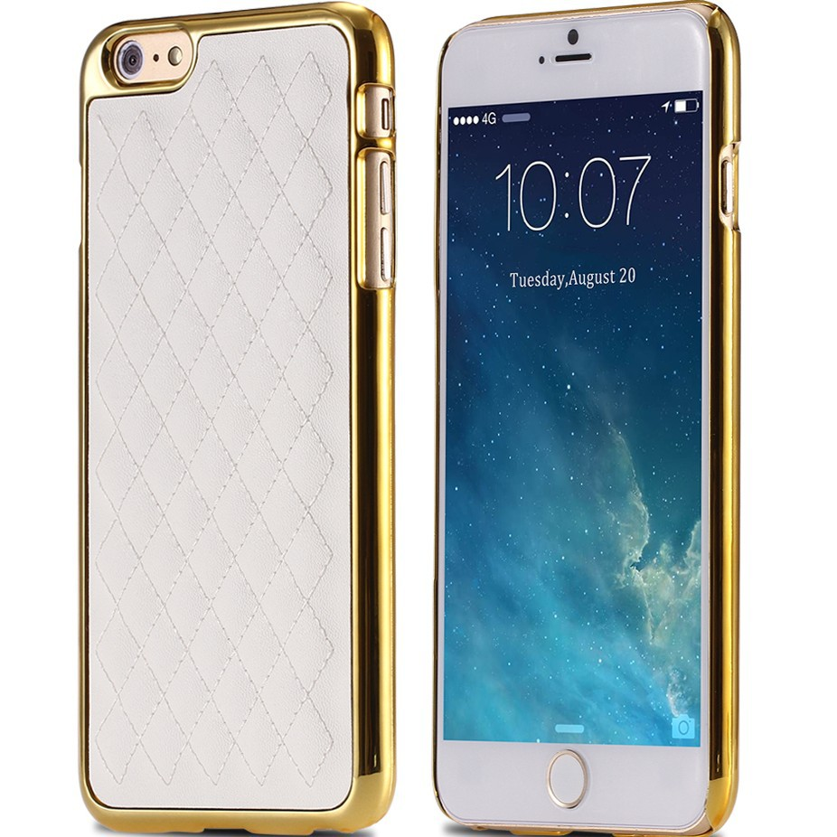 For iphone 6 6s case luxury sheep skin pu leather mobile phone case for apple iphone