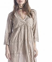 Robe broderies anglaises 100 % boho boheme chic DRESS1401