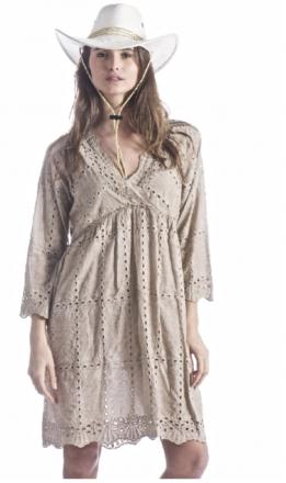 Robe broderie anglaise 100 % boho boheme chic DRESS1401