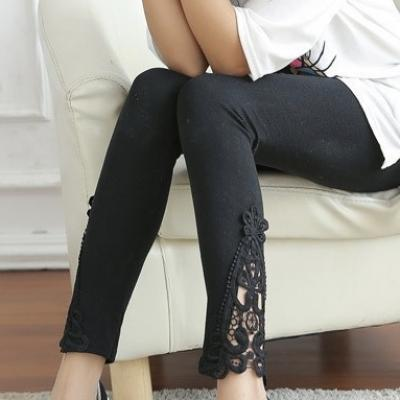 LEGGING LONG BAS DENTELLE BOHO BOHEME CHIC LEGG0042
