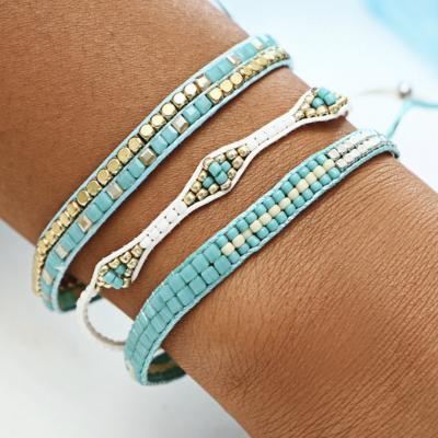 Bracelet 3 rangs boho boheme chic BANGLE0553