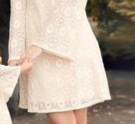 Robe dentelle boho boheme chic DRESS1518