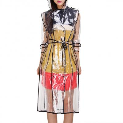 TRENCH TRANSPARENT + CEINTURE BOHO CHIC BOHEME TRENCH0183