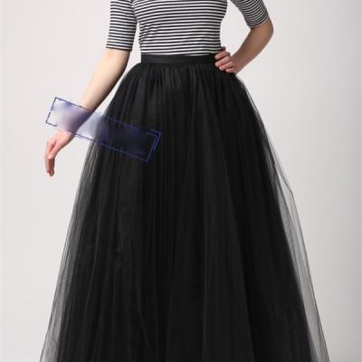 Long jupon tulle marque boho boheme chic SKIRT0061