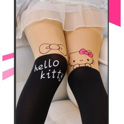 COLLANT OPAQUE KITTY PETITE FILLE BOHO BOHEME CHIC P0029