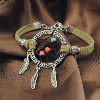Bracelet attrape rêves boho boheme chic bangle0497
