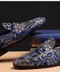 CHAUSSURES HOMME VELOURS BROCARD BOHO BOHEME CHIC CHAUS0099