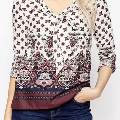 TUNIQUE IMPRIMEE BOHO BOHEME CHIC F0359
