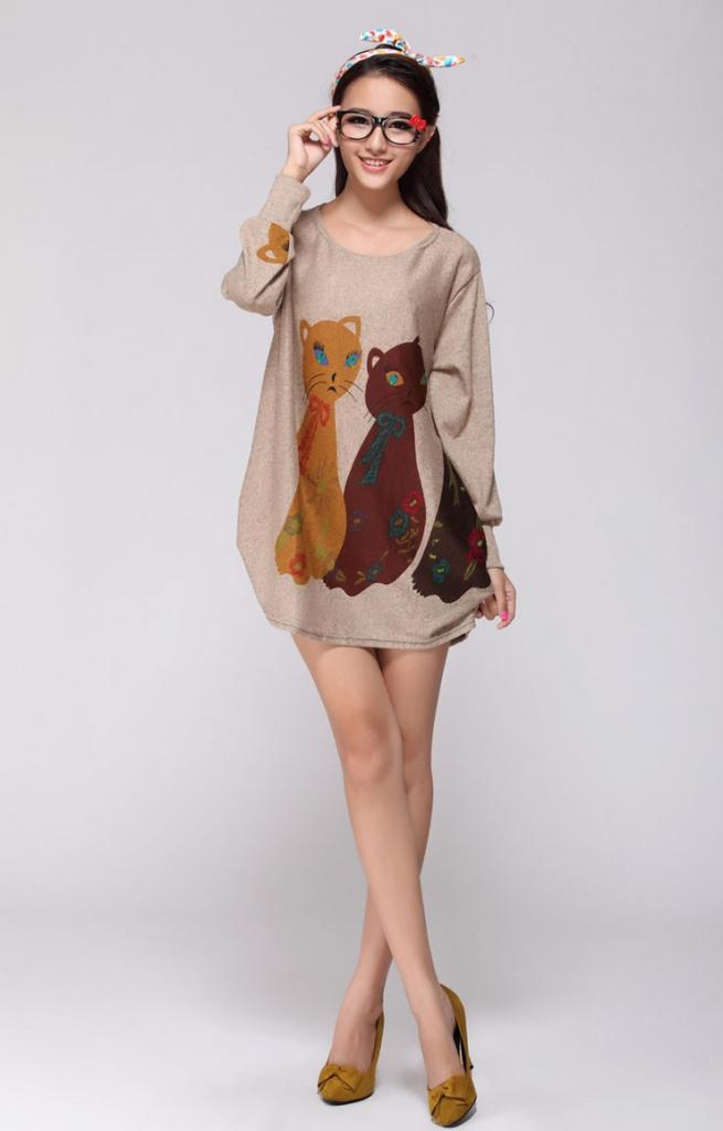 spring-and-autumn-fashion-cat-print-dress-long-sleeve-bigs-size-for-women-free-shipping.jpg