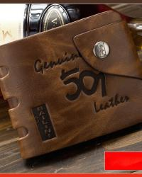 Super deals man s wallet genuine leather man leather purse wallet wholesale free shpping