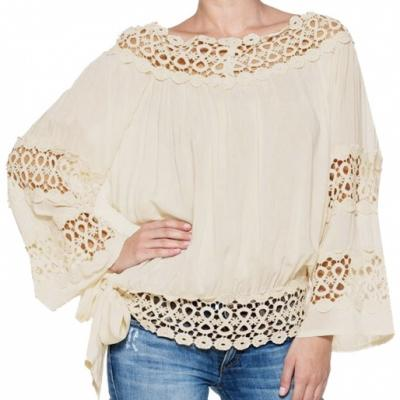 Top dentelle boho boheme chic top0296