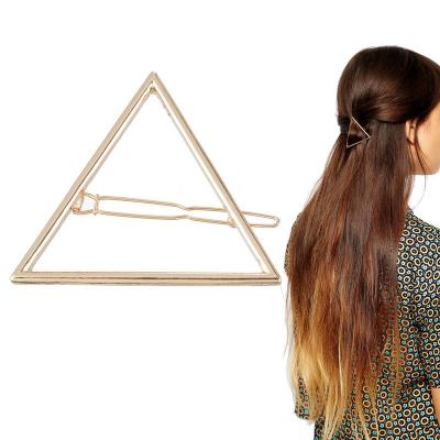 Barrette triangle boho boheme chic hair0215