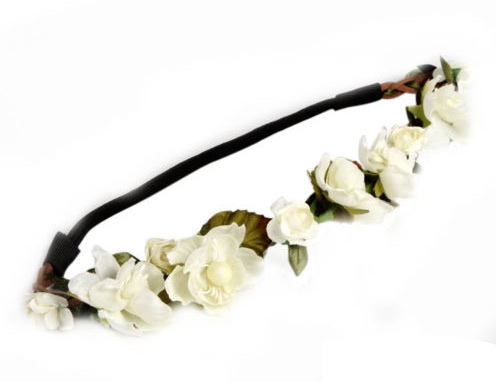 Women s bohemian floral flower rose party wedding hair wreaths headband hair band 1r3i